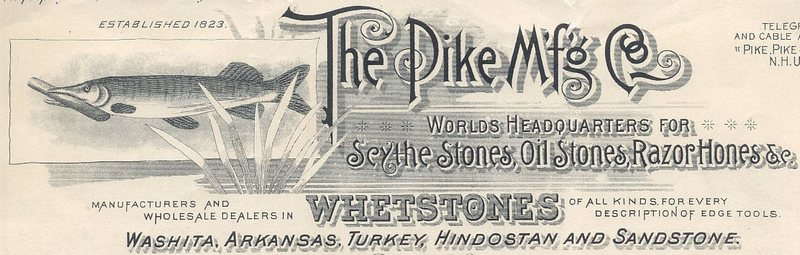 1897 года PIKE начал сотрудничество с NORTON